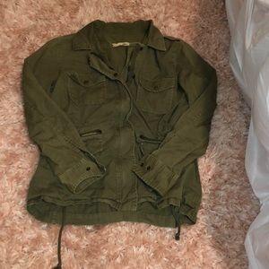 Green khaki jacket